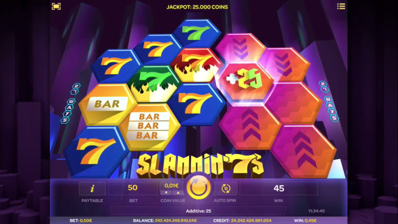 Slammin'7s Gameplay