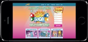 Slingo Casino Lobby on iPhone