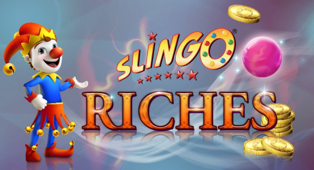 Slingo Riches at Spin Genie Logo