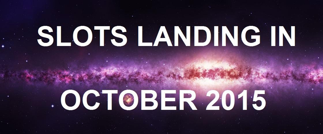 Slots Landing October 2015 Banner