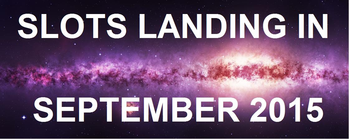 Slots Landing in September 2015 Banner