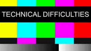 technical difficultites colour bars