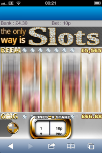 the only way is slots moobile games