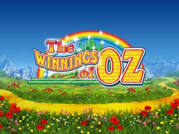The Winnings of Oz by Ash Gaming Slot Logo