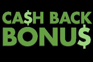 vip cash back bonus