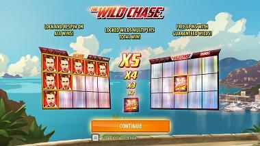 Wild Chase Quickspin Slot Intro