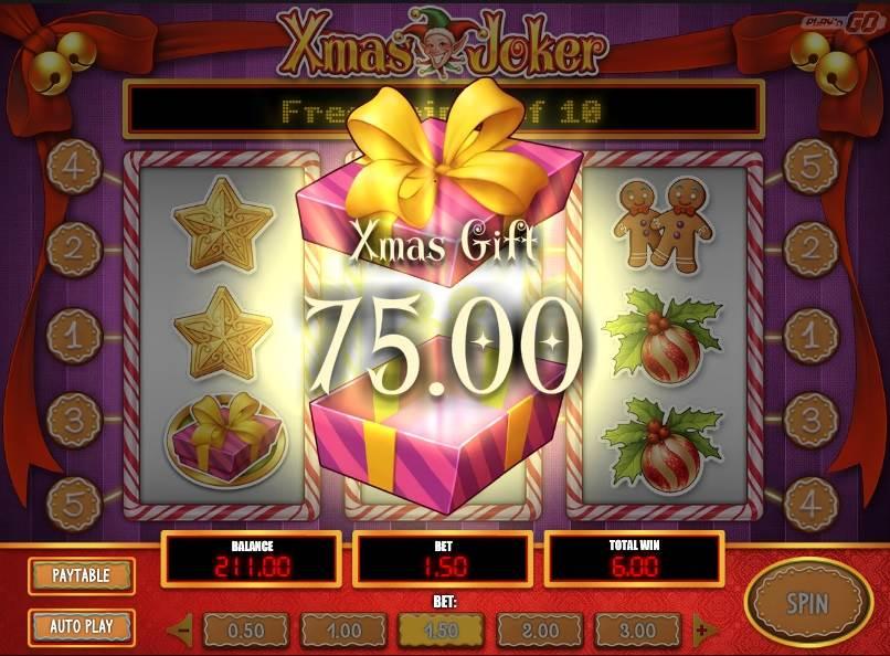Xmas Joker Slot by Play'n GO - Xmas Gift